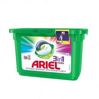 Ariel Капсулы для стирки PODS 3-в-1 Color 12 х 27г